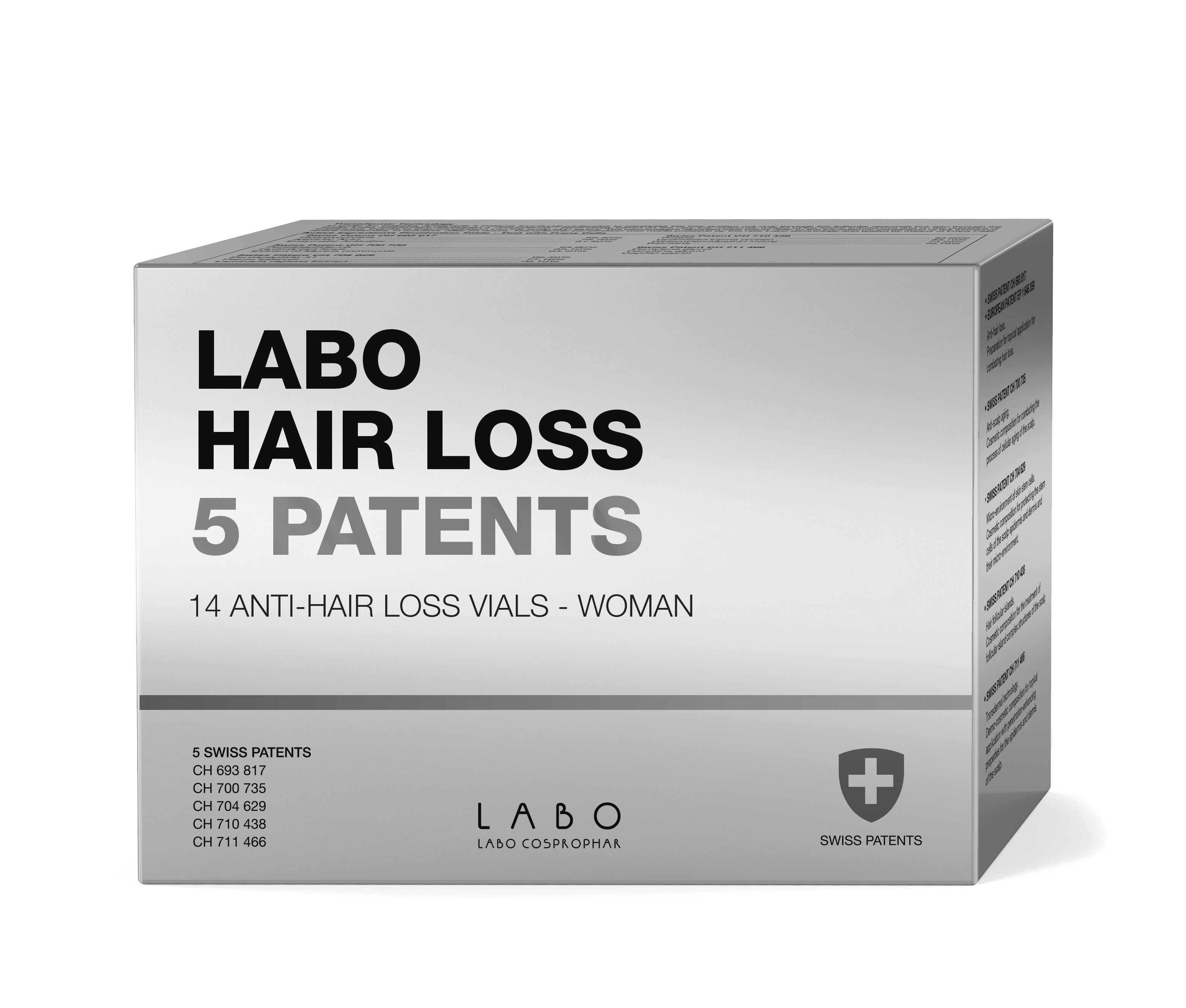 Labo Hair Loss 5 Patents Woman