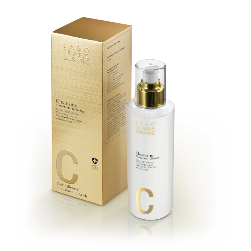 Transdermic Rinse Off Delicate Cleansing Cream