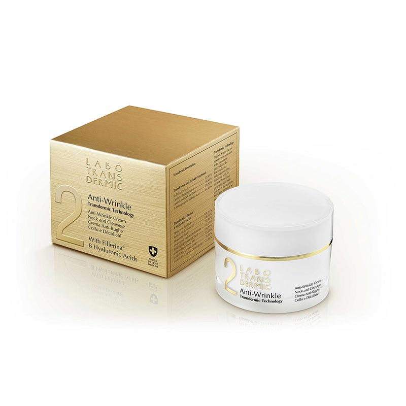 Transdermic Anti-Wrinkle cream |Neck and Cleavage