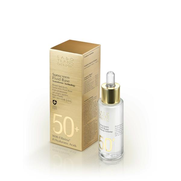 Transdermic Sunscreen Fluid Base SPF+50